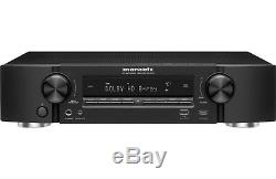 Marantz NR1605 7.1 Channel BLACK Home Theater AV Receiver Bluetooth Wifi UHD