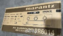 Marantz SR6014 9.2-Channel home theater receiver with Wi-Fi, Bluetooth, AirPlay2