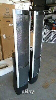 Martin Logan Clarity Electrostatic Home Theater Speakers Black 200w VERY CLEAN