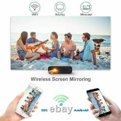 Mini Portable 1080P DLP Projector Artlii Mana home theater Led 7000L FullHD HD