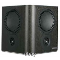 Mission QX-S Dipole Surround Sound Speakers Pair Home Theatre Side Rear