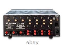 Monolith 11 Channel (3x200 + 8x100W) Multi-Channel Home Theater Power Amplifier