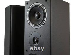 Monoprice Floor Speaker Tower, Black (Pair of Floor Speaker) 12210 -New In Box