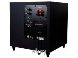 Monoprice Premium 5.1-Ch. Home Theater System, 100 Watts, 8ohms With Subwoofer