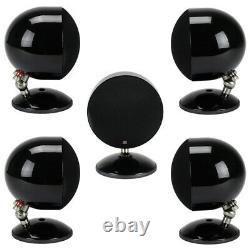 Morel SoundSpot SP-1 5-Piece Home Theater Satellite Speakers Black SP1 NEW