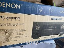 NEW Denon 9.2 Home Theater Receiver 125 watts AVR-X4500H Dolby Bluetooth WIFI