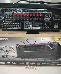 Onkyo 7.2-ch. Hi-res 4k Hdr A/v Home Theater Receiver Tx-nr686 For Parts