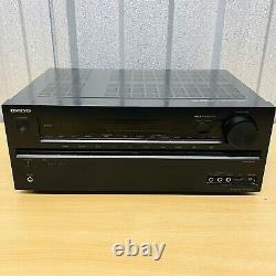 Onkyo TX-NR626 7.2 Channel Home Theatre Receiver Bluetooth, Atmos Wi-Fi 3D 4K