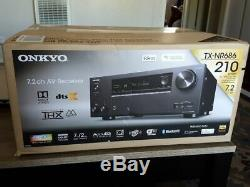 Onkyo TX-NR686 7.2-Ch. Hi-Res 4K HDR Compatible A/V Home Theater Receiver, Black