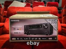 Onkyo TX-NR787 Home Theater AV Receiver 9.2 Channels Dolby Atmos DTS-X