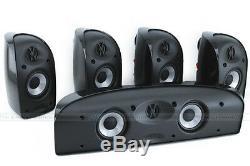 POLK AUDIO TL150 5 x SPEAKERS PACK HI-FI HOME THEATRE SURROUND SYSTEM CINEMA