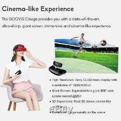 Personal Home Theater System 3D Cinema Goovis Full HD (VR Private Theater)
