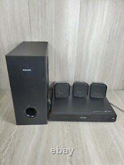 Philips HTS3371D 5.1 Channel Home Theater System HD 1080p Surround Sound Player