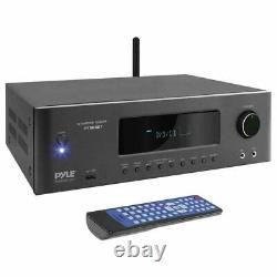 Pyle 4K Ready Bluetooth 5.2 Channel 1,000 Watt Wireless Home Theater Receiver