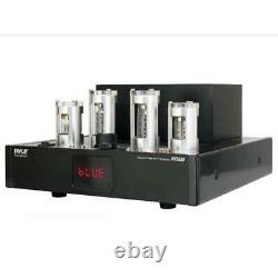 Pyle 500W Home Theater Desktop Stereo Vacuum Tube Hi-Fi Power Amplifier Receiver