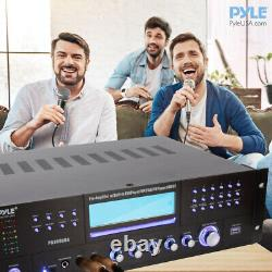 Pyle PD3000BA Home Theater Preamplifier Bluetooth Audio & Video Stereo Receiver