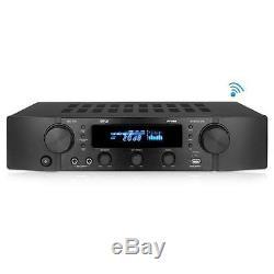 Pyle PT395 Bluetooth Hybrid Pre-Amplifier, MP3/USB/AUX/FM, Home Theater Stereo