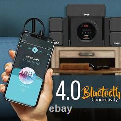 Pyle PT589BT Bluetooth 5.1 Channel 300 Watt Home Theater Surround Sound System