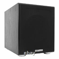Rockville 1000w Home Theater Bluetooth Receiver+(4) Speakers+8 Subwoofer Sub