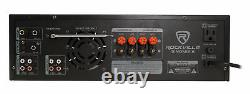 Rockville SingMix 5 2000w Home Theater Receiver with Bluetooth/Echo/Mic inputs