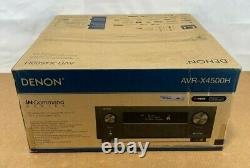 SEALED Denon 9.2 Home Theater Receiver (125 watts) AVR-X4500H NEW Dolby Alexa