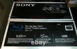 SONY 3D-DVD Blu-Ray 5.1 Channel Home Theater BDV-T57. NIOB