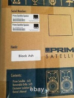 SVS Prime Satellite 5.1 Home Theater speaker system Black Ash