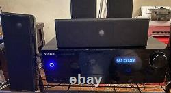 Samsung AV-R720 7.1 Channel Receiver Home Theater Surround Sound and 5 speakers