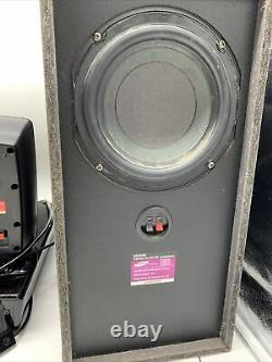 Samsung Home Theater System HT-BD1250 Series With Speakers Remote DVD Player Sub