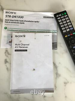 Sony STR-DN1030 7.2 Channel Home Theater AV Receiver, Bluetooth Works Great