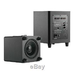 TDX 12-Inch Down Firing Powered Subwoofer Home Theater Surround Sound Black 12