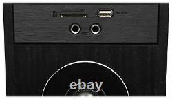 Tower Speaker Home Theater System+8 Sub For Samsung NU6900 Television TV-Black