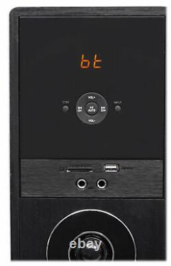 Tower Speaker Home Theater System withSub For LG SK8000 Television TV-Black