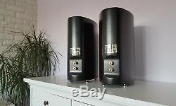 Unique Audiophile Pioneer S-F80-W Hi End home cinema theater book shelf speakers