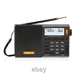 XHDATA D-808 Portable Digital Radio FM stereo/SWithMWithLW SSB RDS Air Band Multi