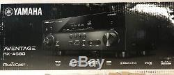 Yamaha AVENTAGE RX-A680 7.2-channel home theater receiver with Wi-Fi, Bluetooth