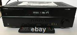 Yamaha RX-V367 5.1 Home Theater Receiver Remote Bundle 100 Watts Per Channel