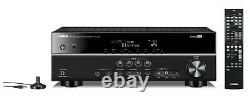Yamaha RX V375 5.1 Channel 100 Watt 5.1-ch 4k Home Theater Receiver